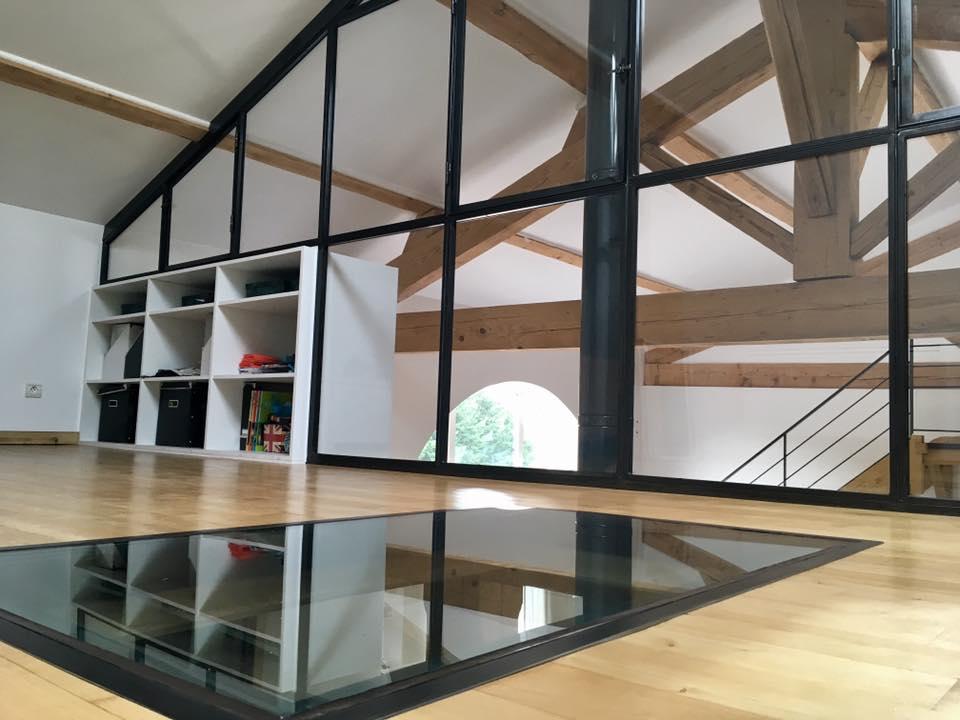 dalles en verre lyon dalles de sol villefranche calade design. Black Bedroom Furniture Sets. Home Design Ideas