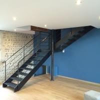 escalier metallique lyon escalier metal villefranche With wonderful faire plan maison 3d 18 escalier metallique lyon escalier metal villefranche
