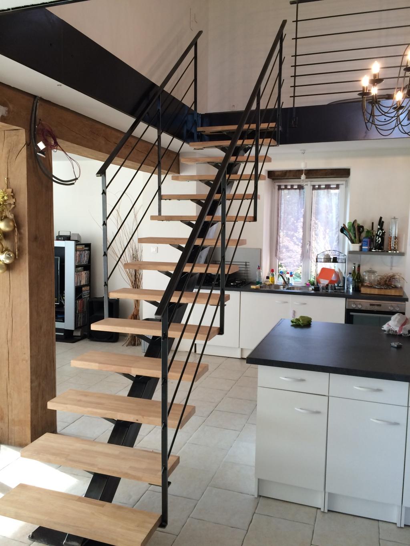 Escalier m tallique lyon escalier m tal villefranche for Architecture et decoration