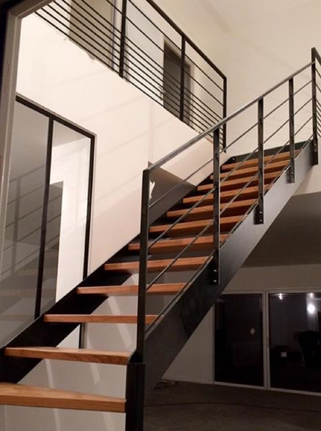 Escaliers Metal Bois