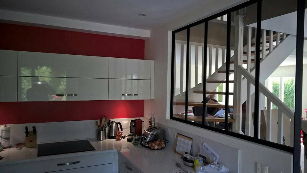 Verri re design lyon verri re villefranche calade design - Cerramientos de cristal para cocinas ...
