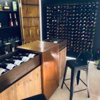 agencement et design cave à vin