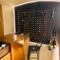 intérieur cave à vin