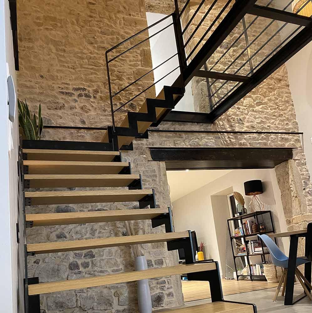 escalier-double-limon-cremaillere