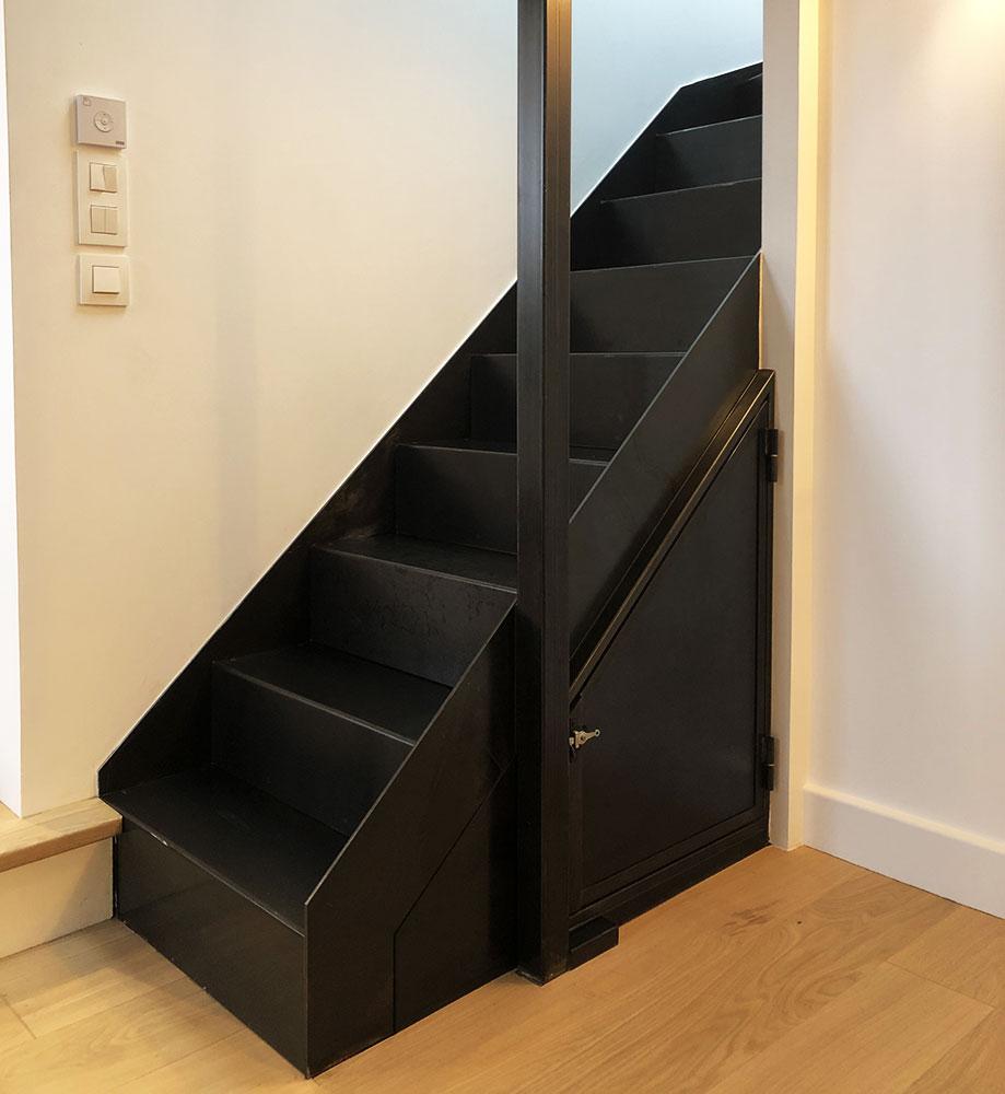 escalier-métallique